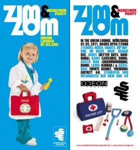 ZIM&ZOM Party Flyer