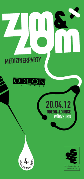 ZIM&ZOM Medizinerparty am 20. April 2012 im Odeon, Würzburg