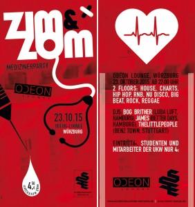 ZIM&ZOM Party am 23.10.15 im Odeon Würzburg