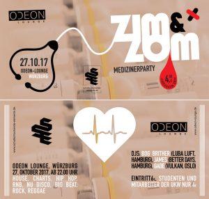 ZIM&ZOM Party am 27.10.17 im Odeon Würzburg